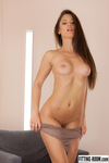 Little Caprice | Fishnet Bodysuit And A Wet Pussy