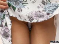 Talia Mint | Upskirt Shots