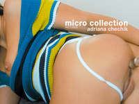 Adriana Chechik | Micro Thong & Hairy Pussy