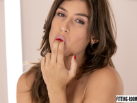 Julia Roca | Lingerie Model Loves Her Anal Plug