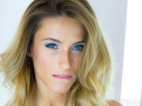 Cara Mell | Blonde Babe Loves Nylon