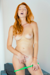 Red Fox | Geek Babe Plays With An Anal Plug