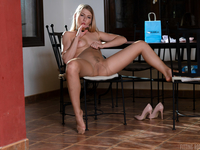 Lucy Heart | Russian Cutie Cums With Nylon