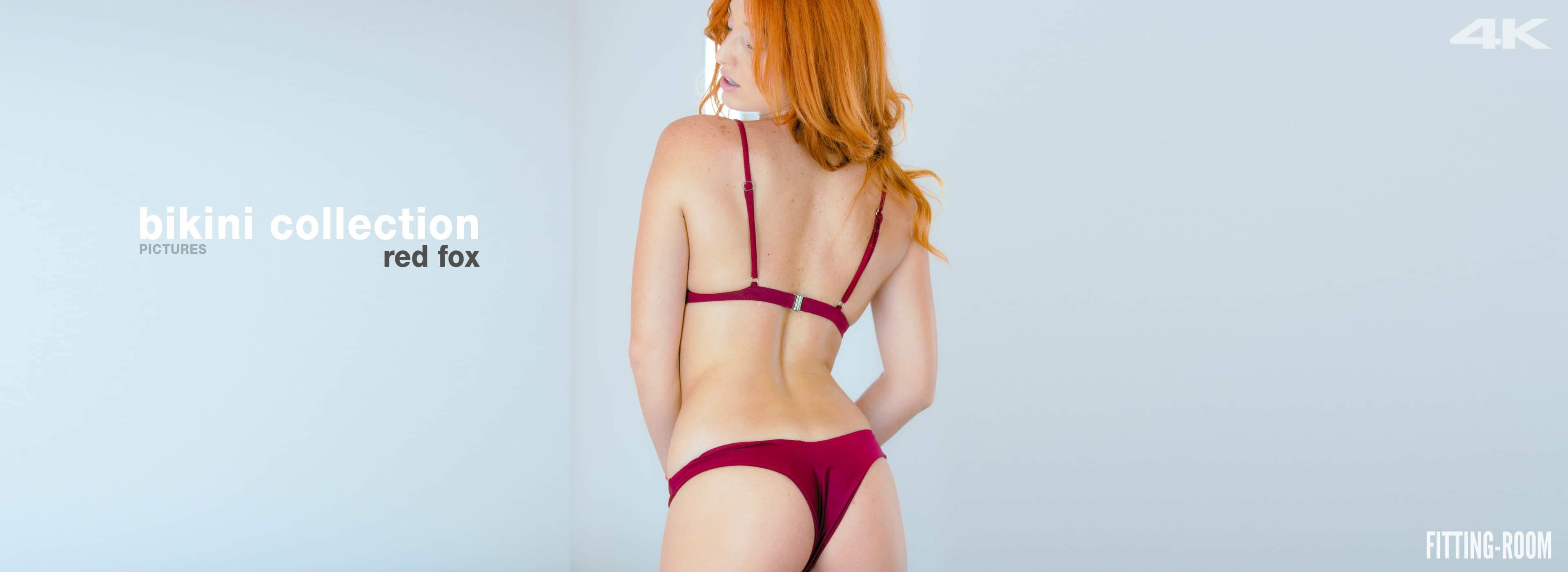 Red Fox   Horny Babe Wearing A Bikini