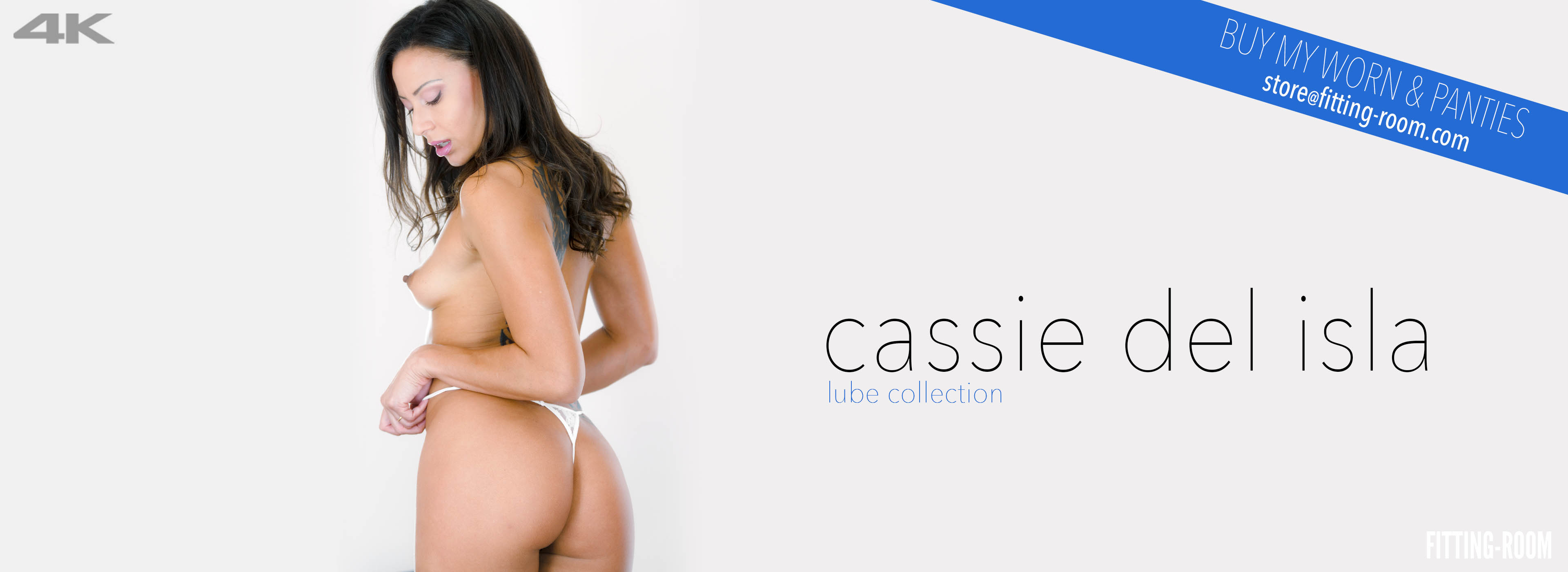 Cassie Del Isla body is absolutely stunningShe does a lot of naughty anal play! Cassie G-string can't cover her gaped asshole. She fills her pussy with a lot of lube.
