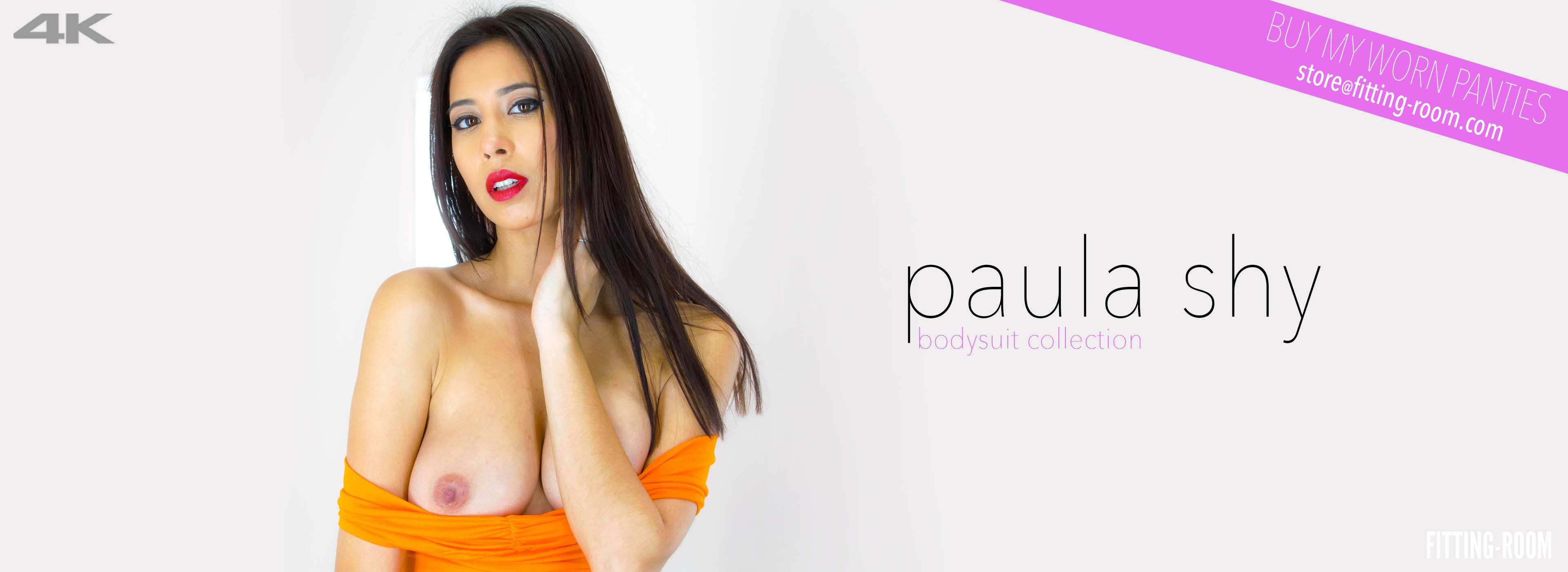 Paula Shy | Busty Babe Fucks Her Pussy
