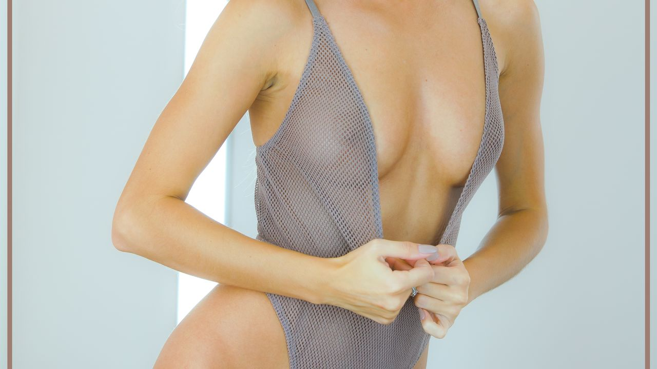 Cara Mell in Bodysuit collection